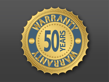 50 Year Structural Warranty